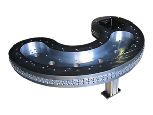 Custom Precision Index Conveyor - Kidney Shaped