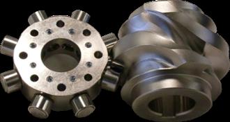 globoidal-cam rotary index table drive